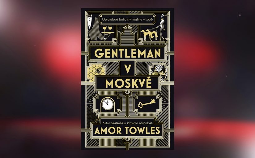 Gentleman v Moskvě – kniha